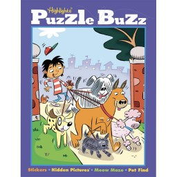 Puzzle Buzz book cover