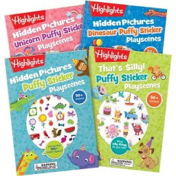 Puffy Sticker Playscenes Collection