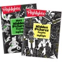 Hidden Pictures Puzzles to Highlight and More Hidden Pictures Puzzles to Highlight paperback books