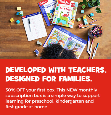 This NEW monthly subscription box is a simple way to support learning for preschool, kindergarten and first grade at home. Get 50% OFF your first box!