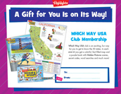 Which Way USA Certificate Holiday Gift Announcement