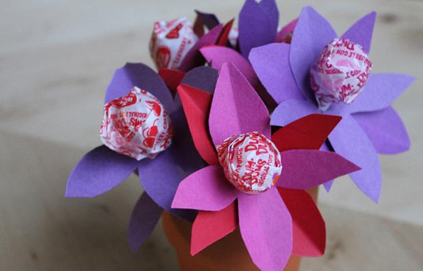 Lollipop flower craft for kids highlights your child you flowers sweet enough to eat mightylinksfo