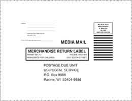 Image of return label