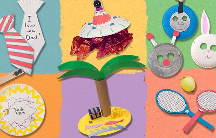 Paper Plate Crafts For Kids Highlights Your Child You