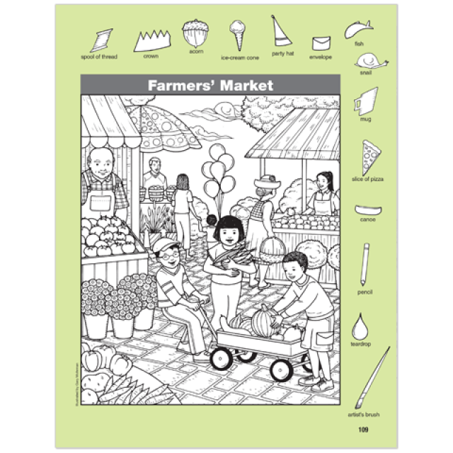Hidden Pictures Farm Puzzles Highlights For Children